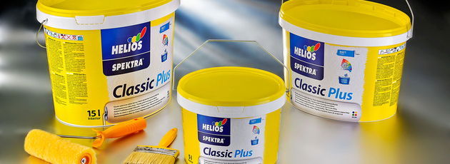 Helios chooses quality plastic paint cans