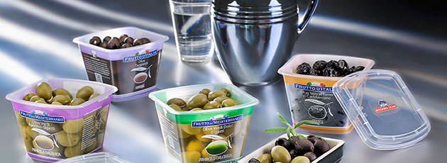 Olives in Italy now sold in a LongLife™ pack