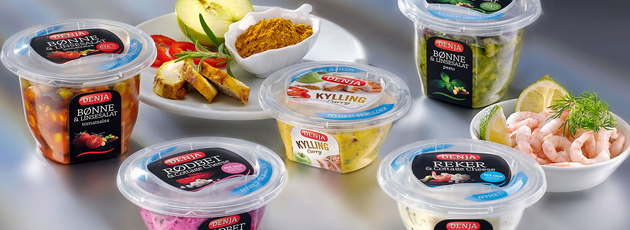 Packaging design advantages for salads