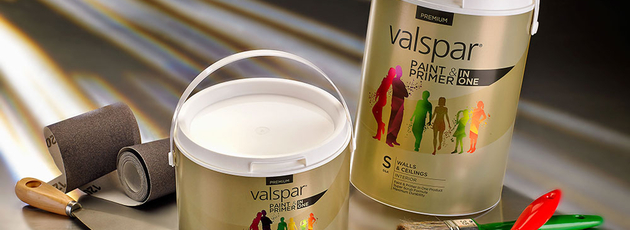 Striking golden look for paint from Valspar