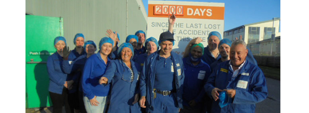 An amazing achievement: 2,000 days of safety