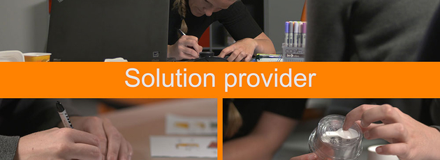 Expect the best from your solution provider
